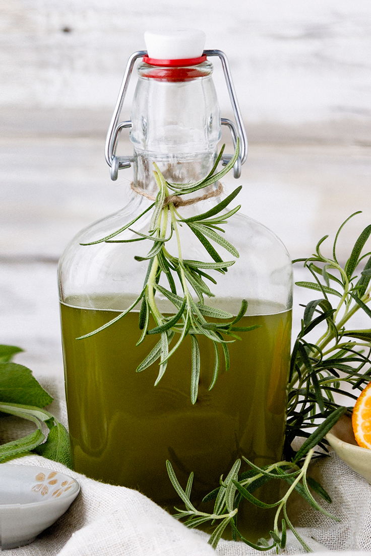 Amoretti Simple Syrup Recipe - Rosemary Mandarin Simple Syrup