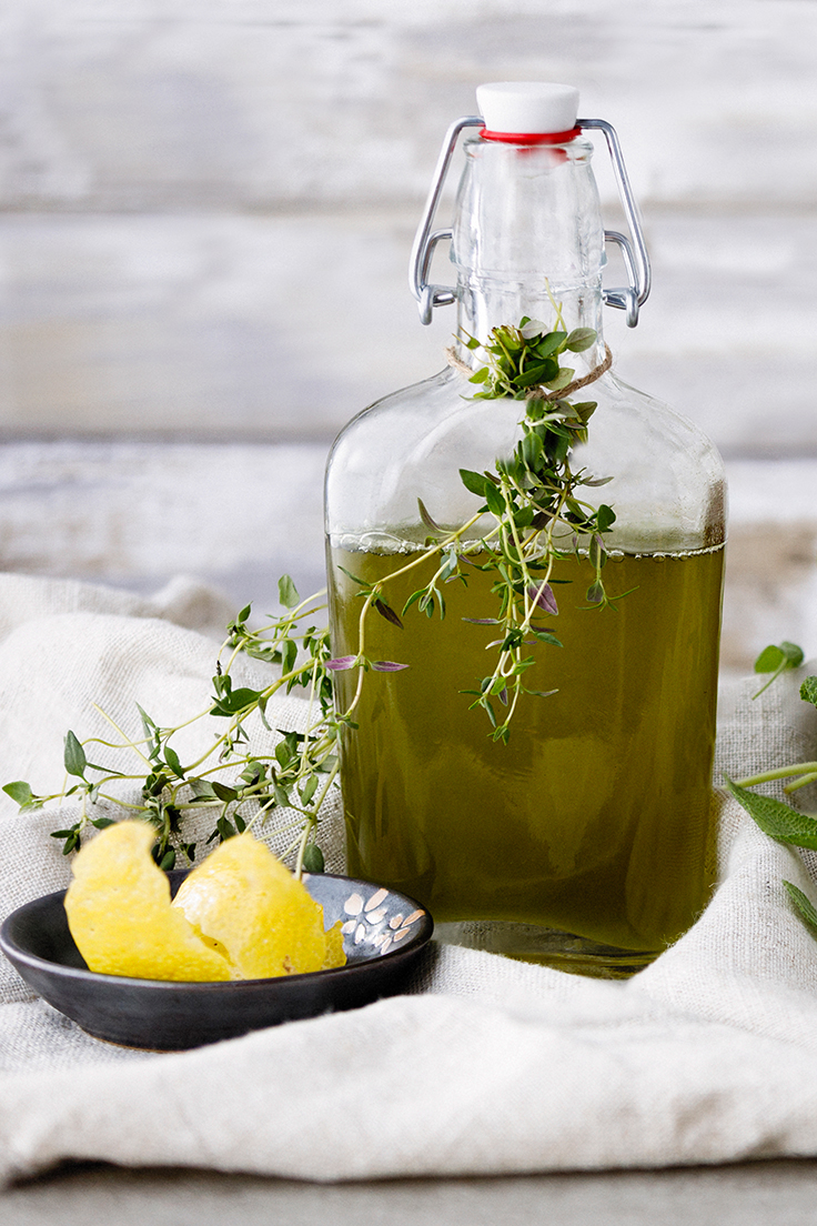Amoretti Simple Syrup Recipe - Lemon Thyme Simple Syrup