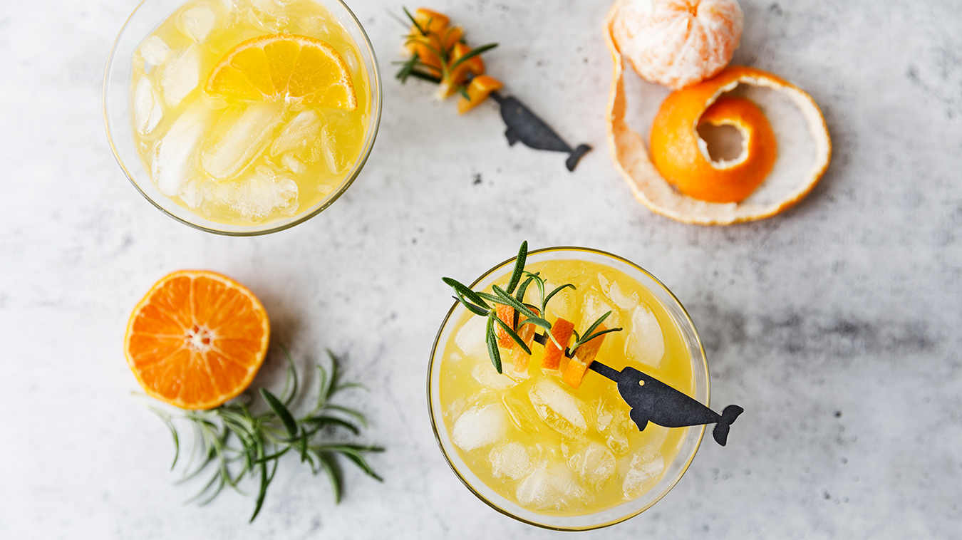 Amoretti Recipe: Tangerine Gin-tini Cocktail