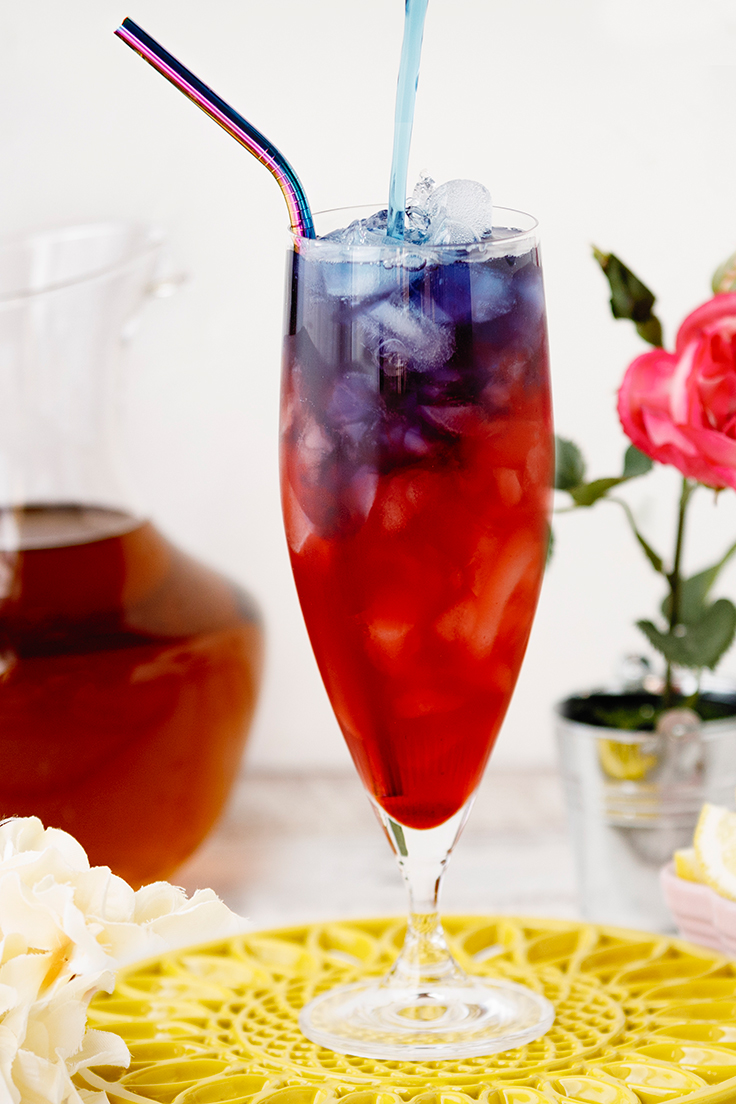 Amoretti Butterfly Iced Tea Recipe