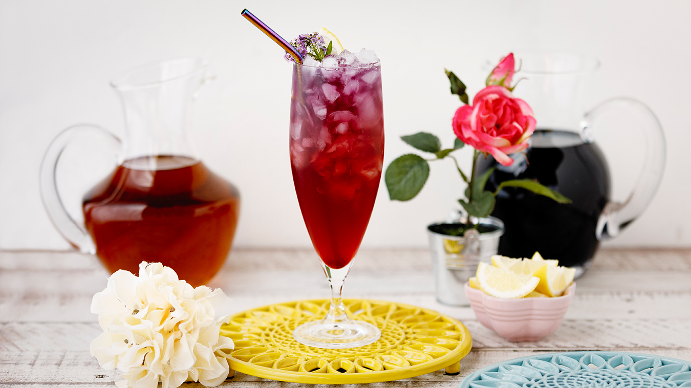 Amoretti Recipe: Butterfly Iced Tea