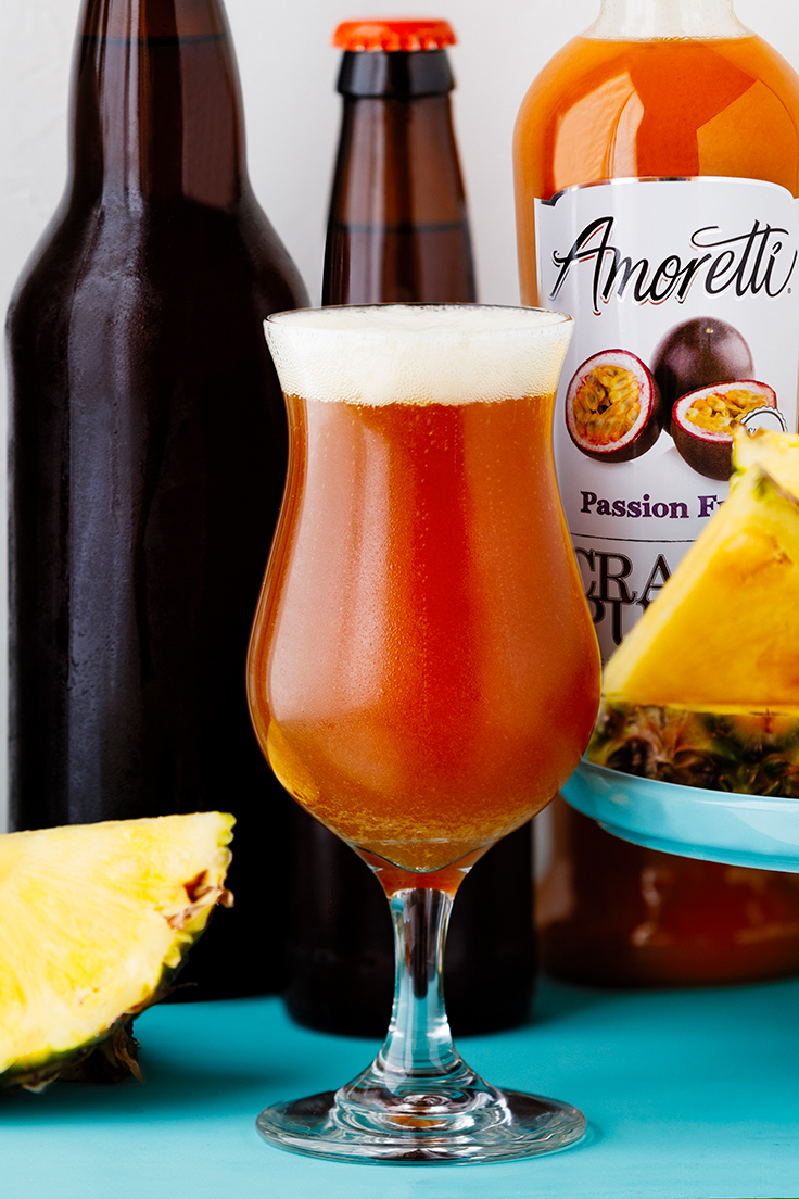 Murkwood Brewing with Amoretti: Golden Perch Tropical IPA Recipe with Pineapple, Passion Fruit, & Coconut Craft Purees