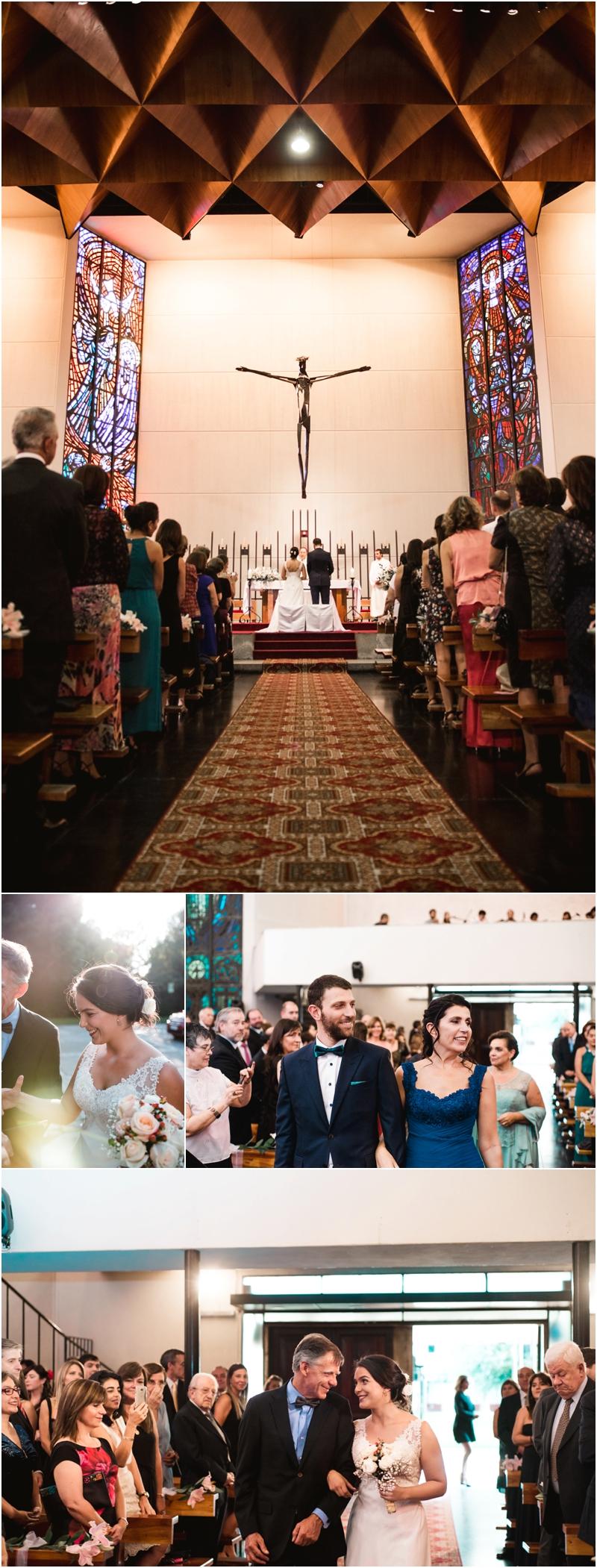 Matrimonio en Colegio del Verbo Divino, Fotografía por Ampersand Wedding Films