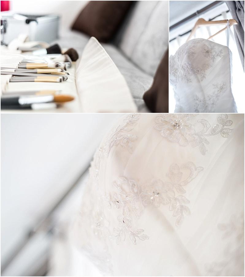 Vestido de Novia, Fotografía de los preparativos