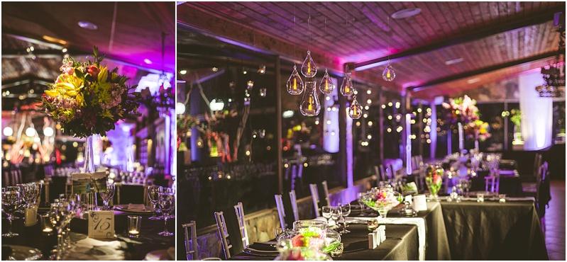 Decoración cena de Matrimonio en Casona San José de las Vertientes
