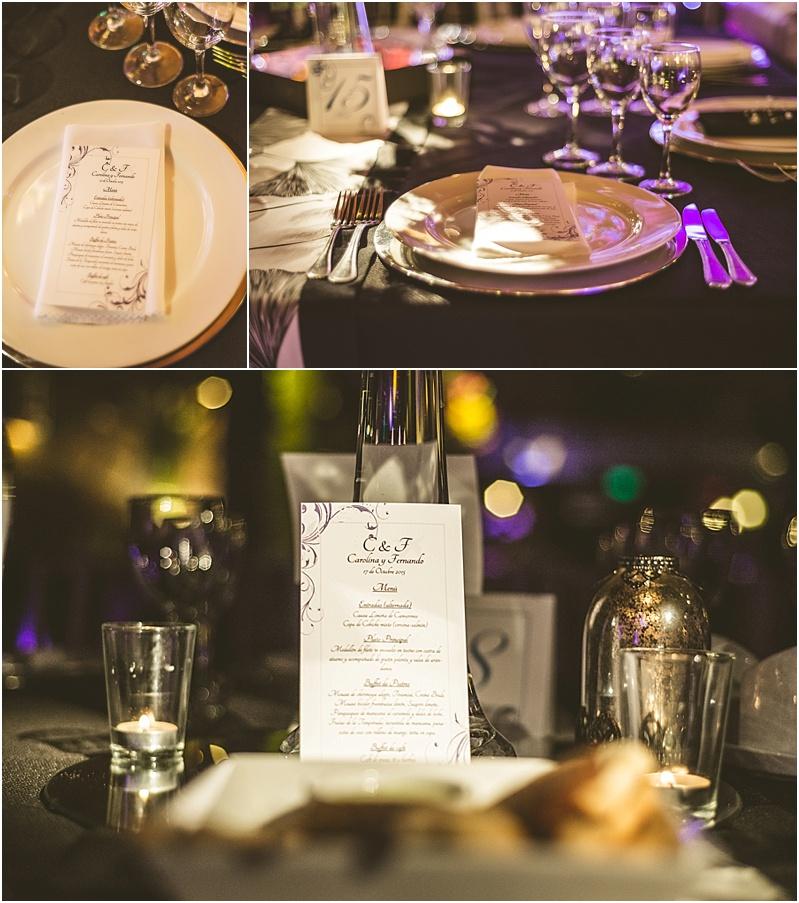 Cena de matrimonio en Casona San José de las Vertientes