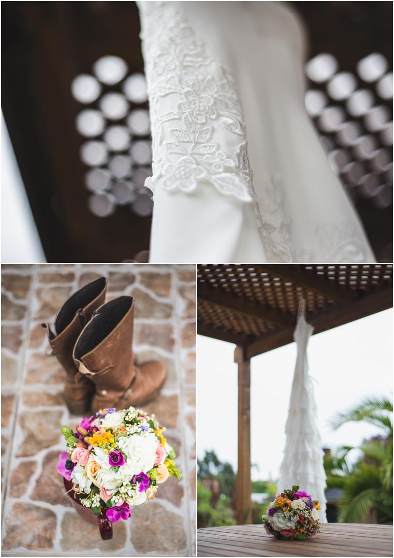 Vestido y Zapatos de Novia, Matrimonio en Maitencillo
