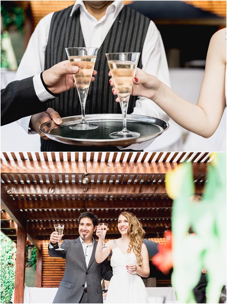 Fotografía Matrimonio Civil: Brindis de los Novios