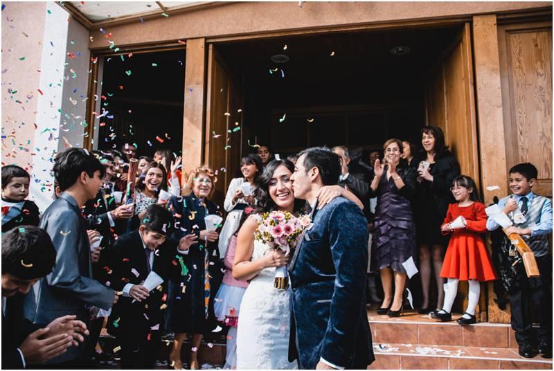 Fotografía Matrimonio IUMP Primera de Peñalolén