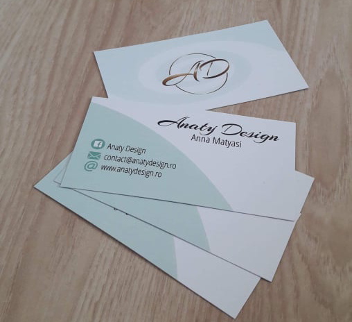 anaty design business cards