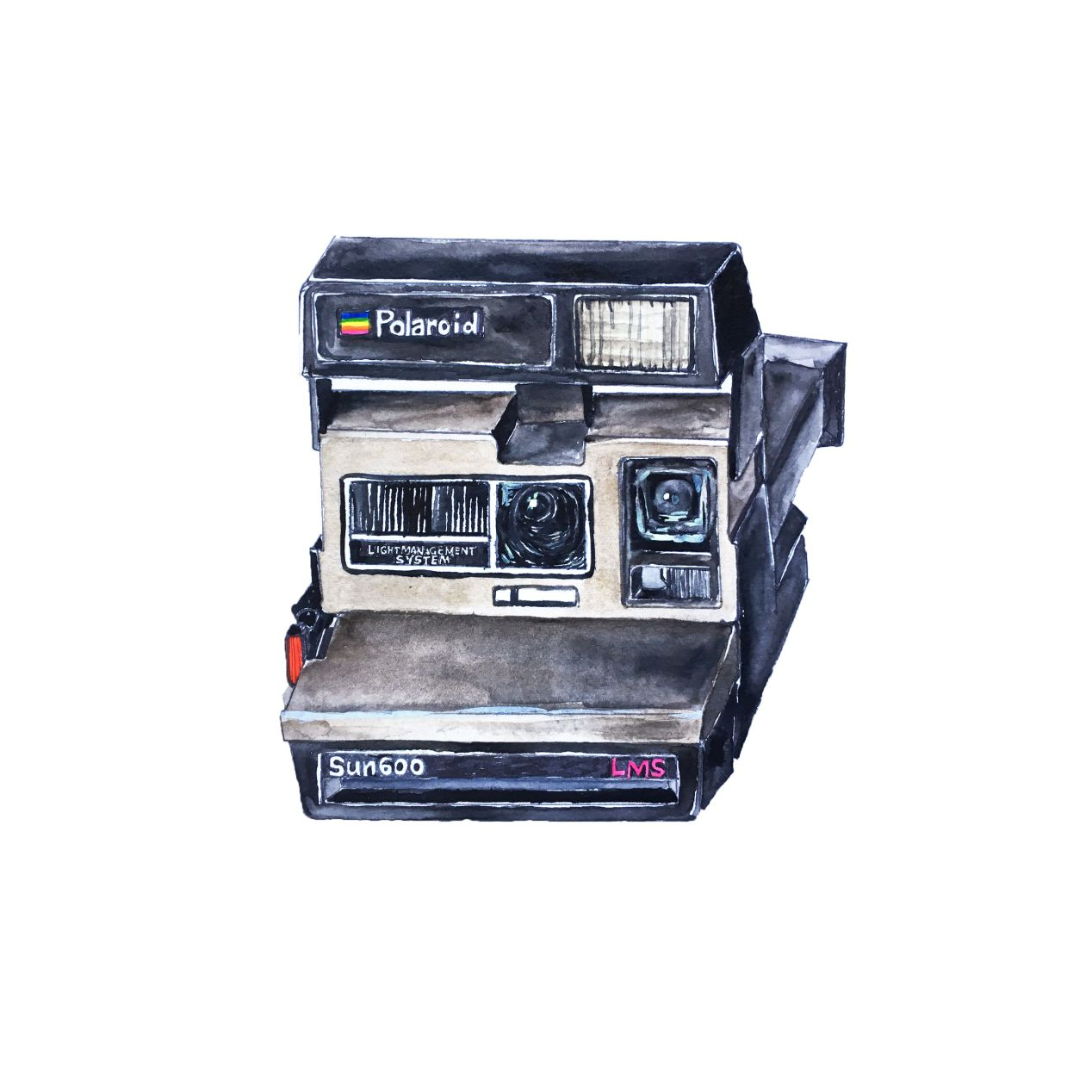 Polaroid 600 is a fixed 116mm f/11 lens 3⅛² instant film viewfinder camera. Automatic. Launched in 1981, USA.