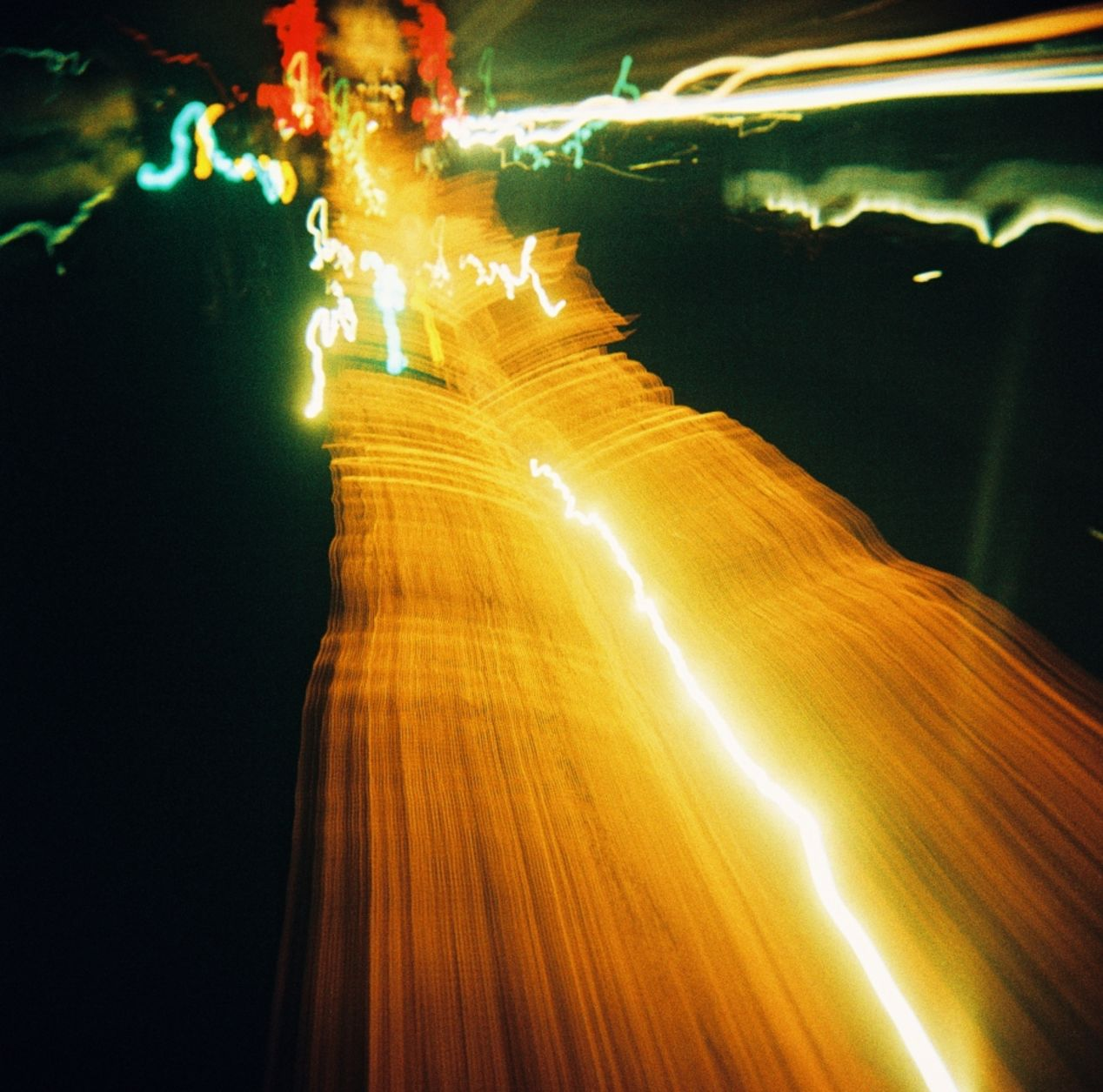Highway ride – bulb exposition.