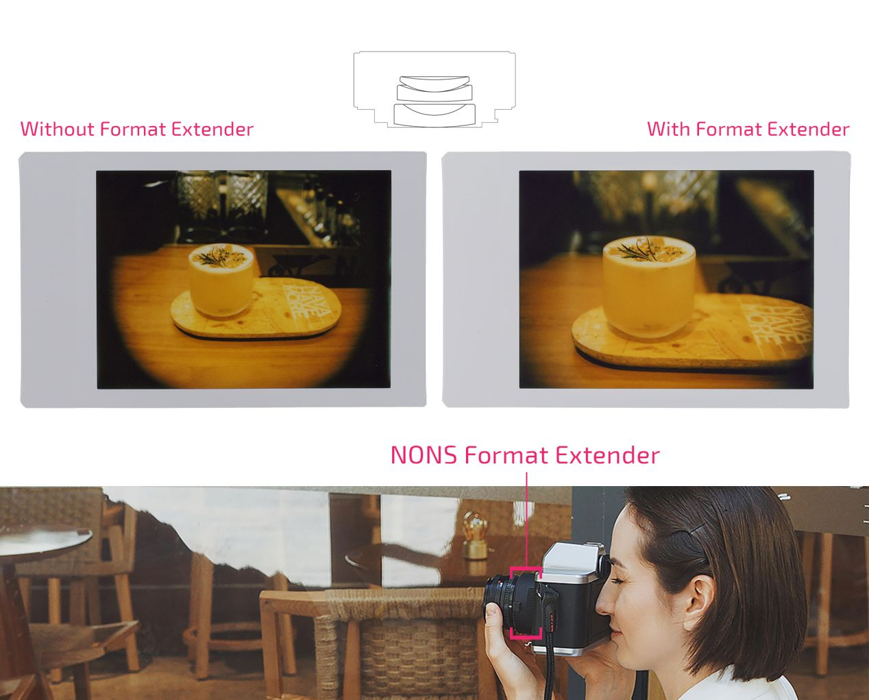 Images from NONS press kit with my edits.