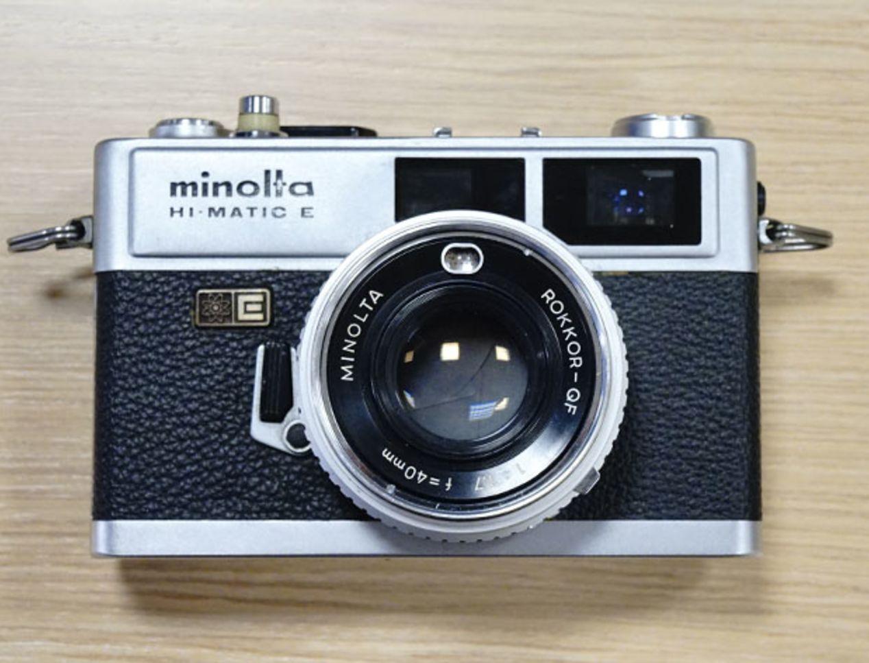 Minolta Hi-Matic E ~$40.
