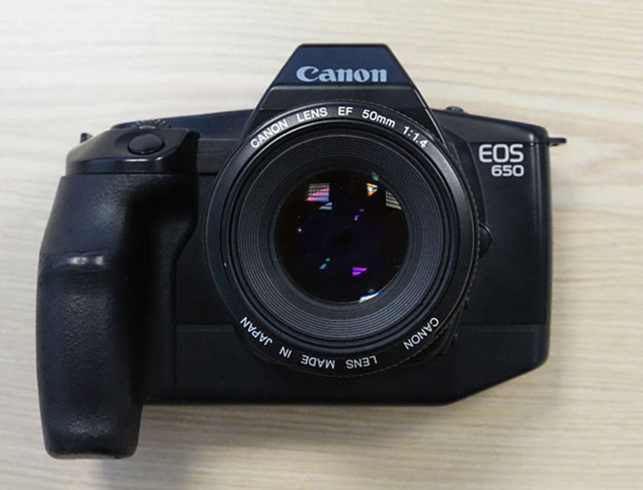Canon EOS 650 ~$30.