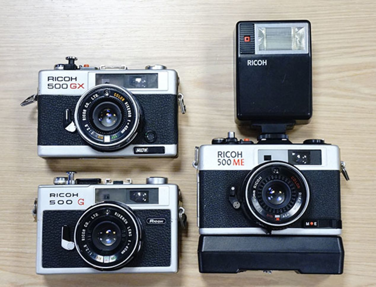Ricoh 500 series ~$40 or up to $75 with accessories.