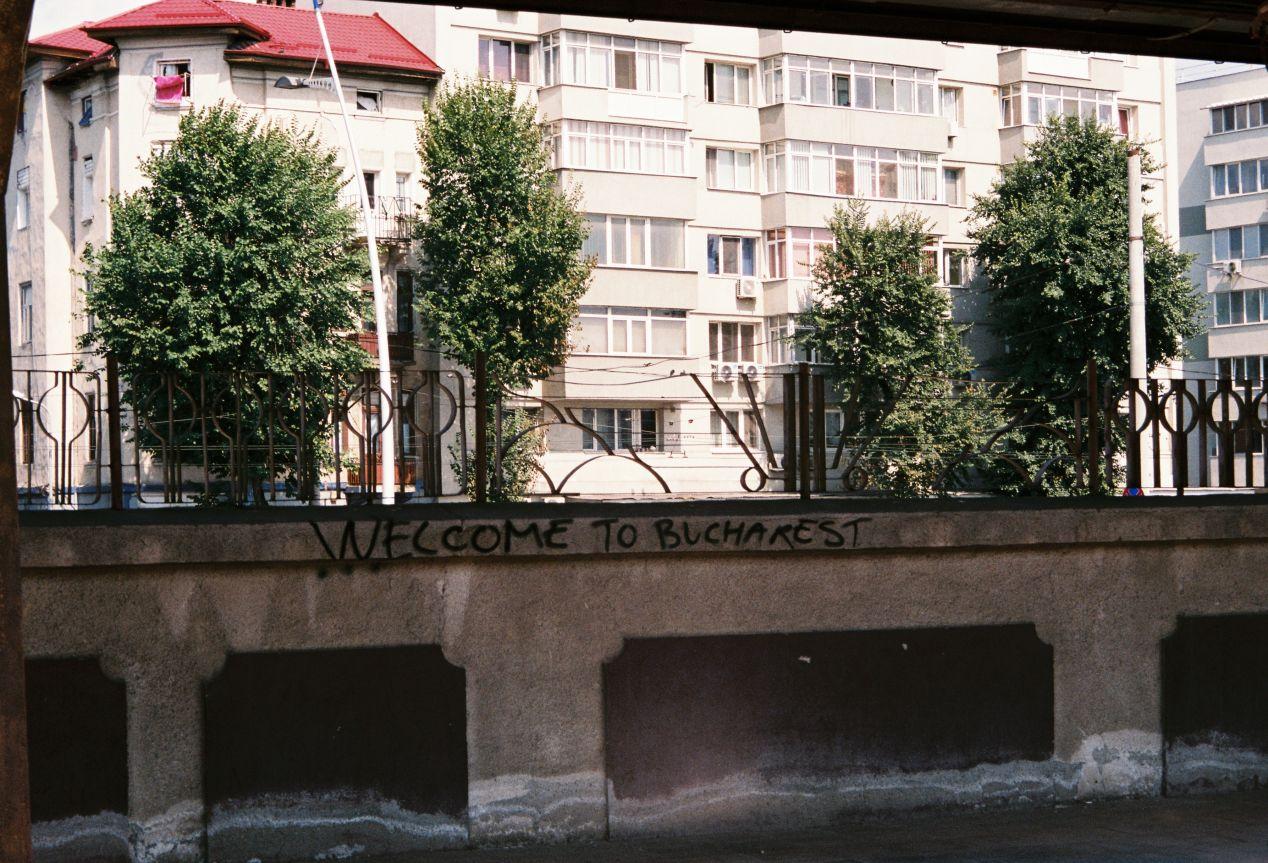 A Postcard From Bucharest. Romania. Fujifilm Superia 400.