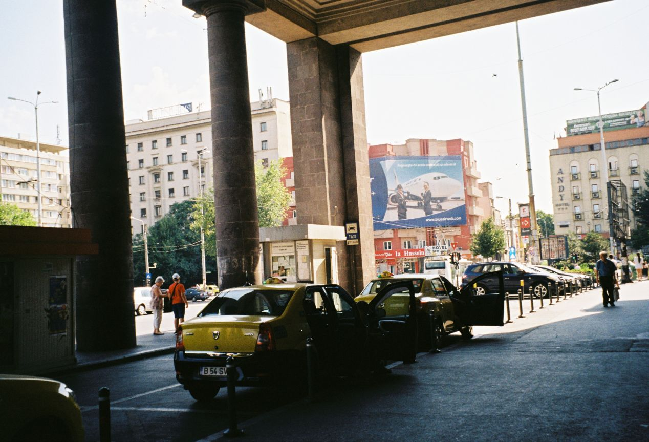 Gara de Nord, Bucharest, Romania. Kodak Gold 200.