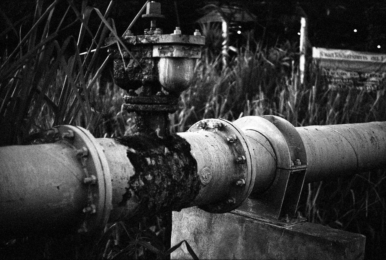Industar-61 Л/Д with Rollei Surveillance 400 film. The emulsion has an enormous amount of contrast, which has translated into an unusually sharp photograph with the Industar-61 lens.