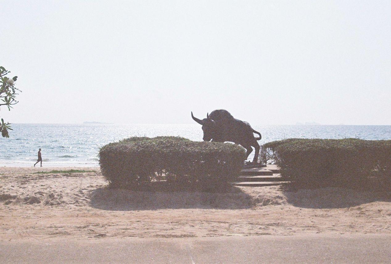 Thung Wua Laen Beach. Shot with Yashica FX3 Super 2000 on Kodak Color Plus 200.