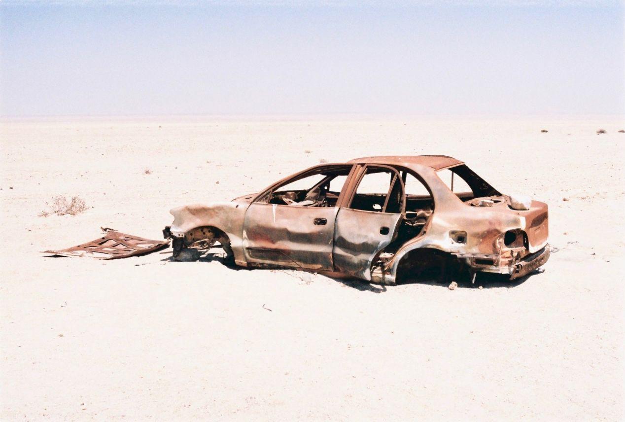 Namib Desert. Kodak Portra 160 and Olympus OM1