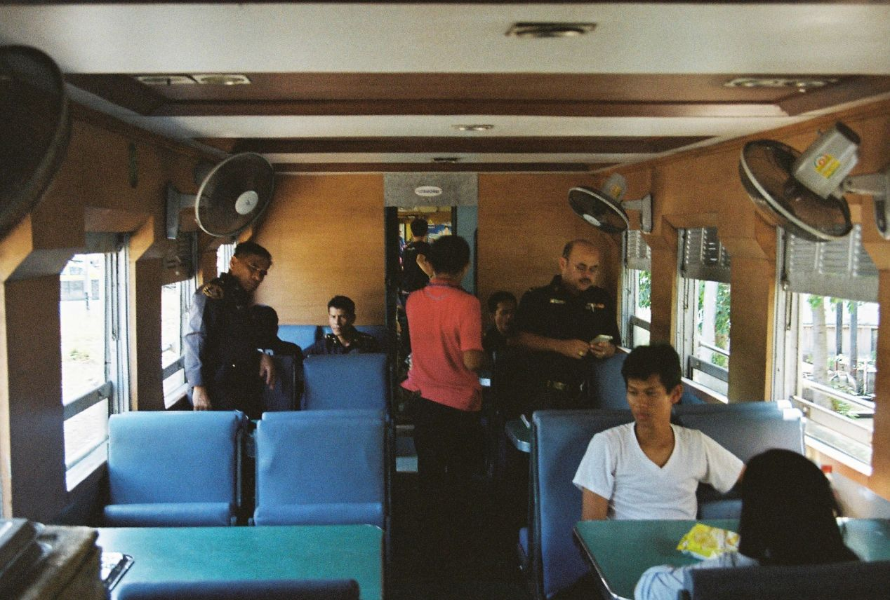 The canteen. Shot with Yashica FX3 Super 2000 on Kodak Color Plus 200.