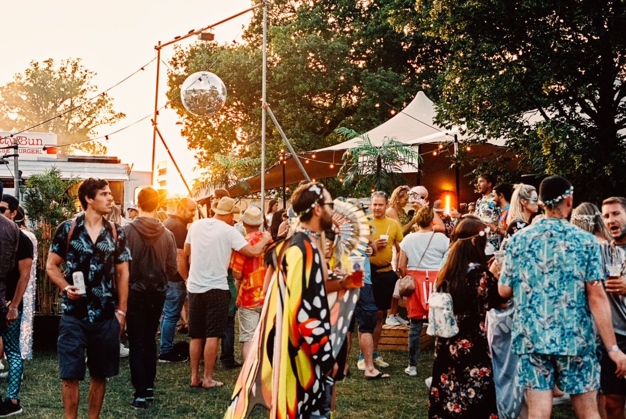 All images captured on Kodak Portra 400 film with Nikon FM2n and Nikkor 50/1.4 AIS. Location: Wilderness Festival, 2019; Cornbury Park, United Kingdom. August 2019.