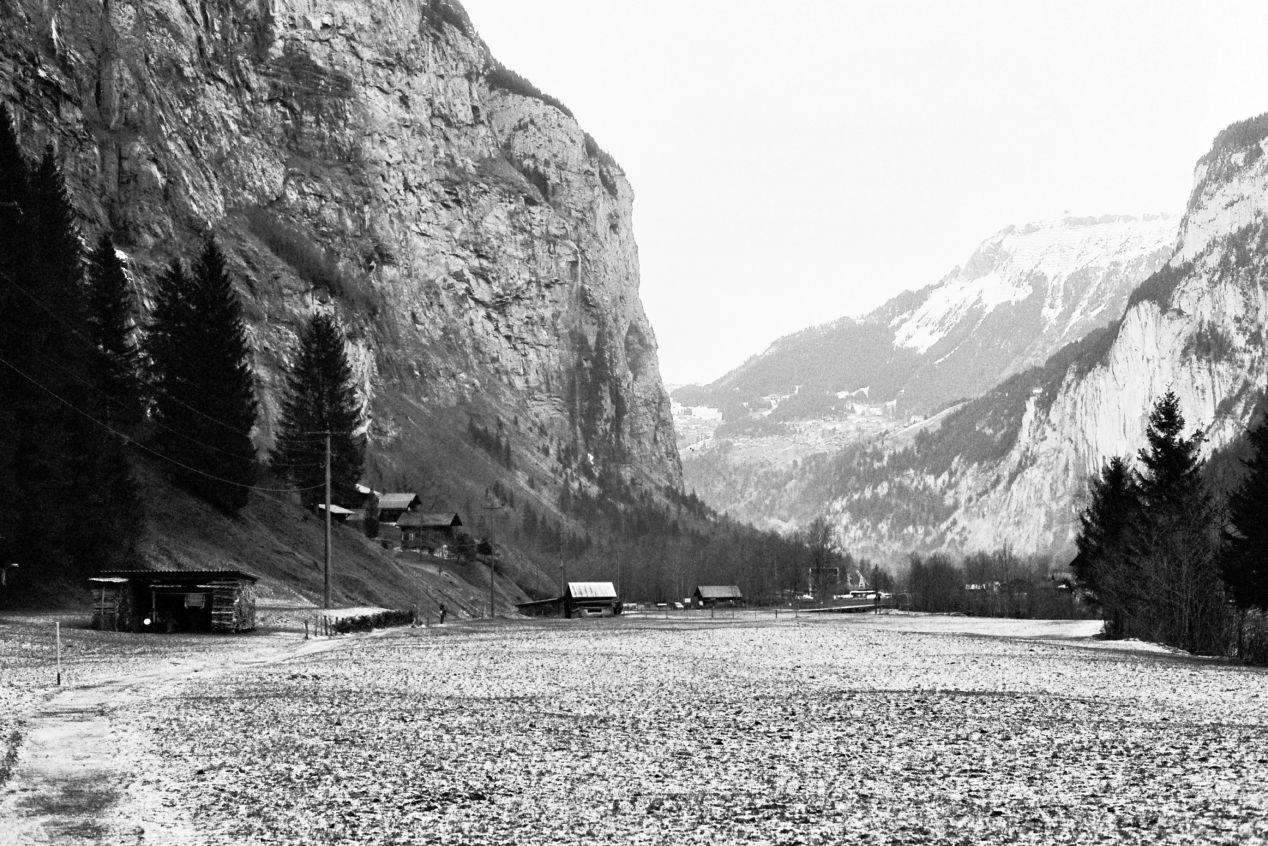 Yosemite Valley, Switzerland ver. — St. Niklaus.