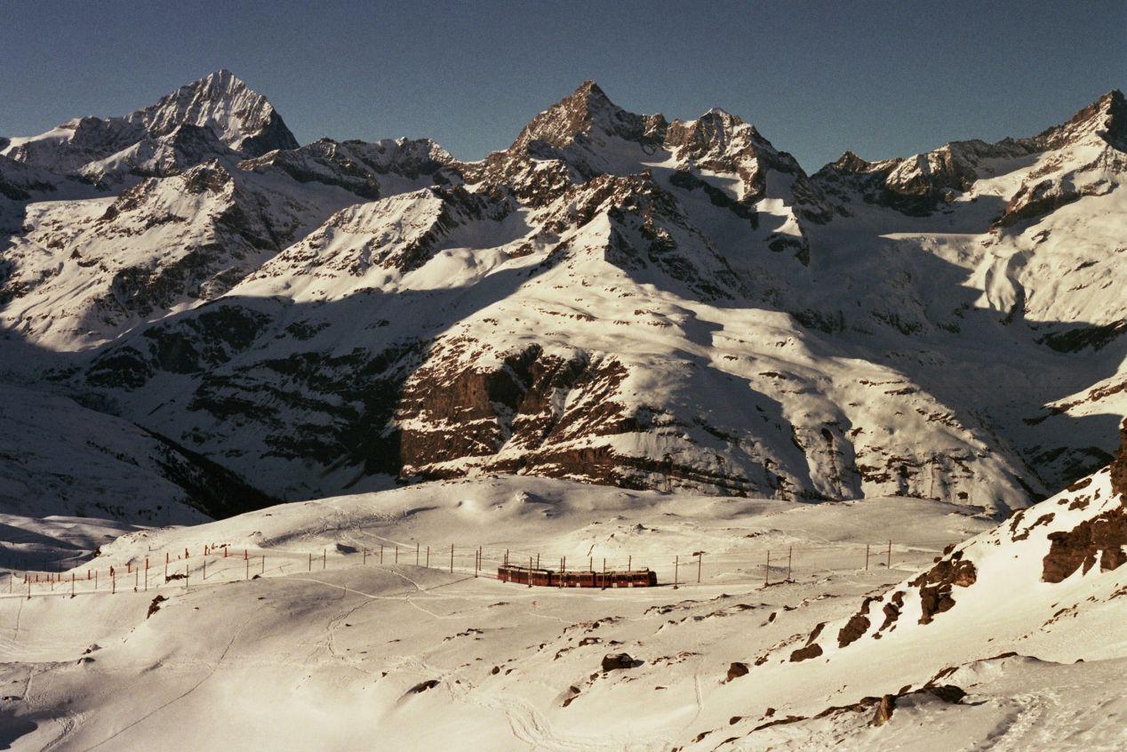 Adios, amigo. — Zermatt.
