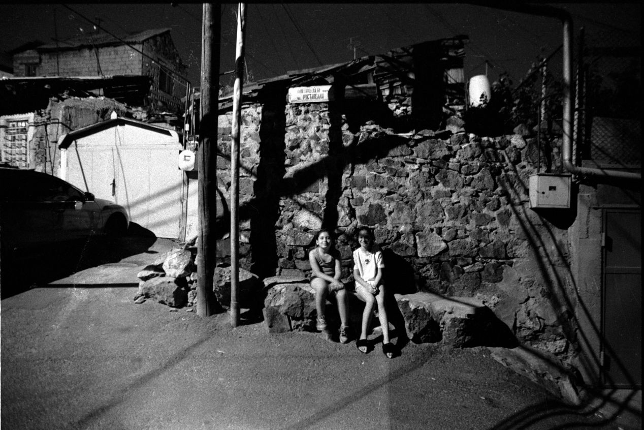 I love to photograph outdoors, in the favelas.