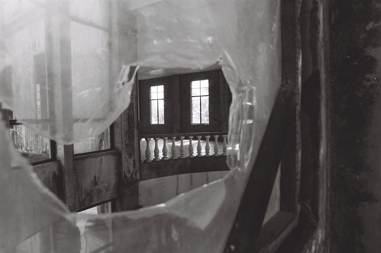 A Window To One's Thoughts. Kodak Tri-X, Nikon F3 HP.