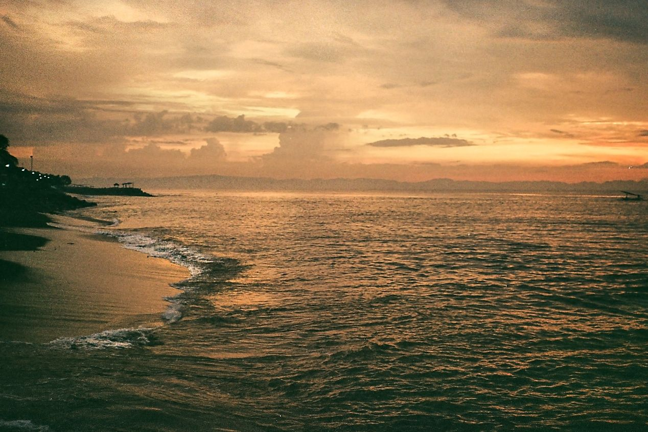 One of Lombok's beaches. Captured on Kodak ColorPlus 200.