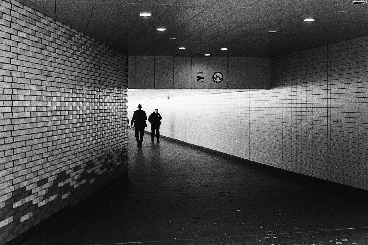 Reading Station, UK. Kodak Tri-X, pushed to 1600.