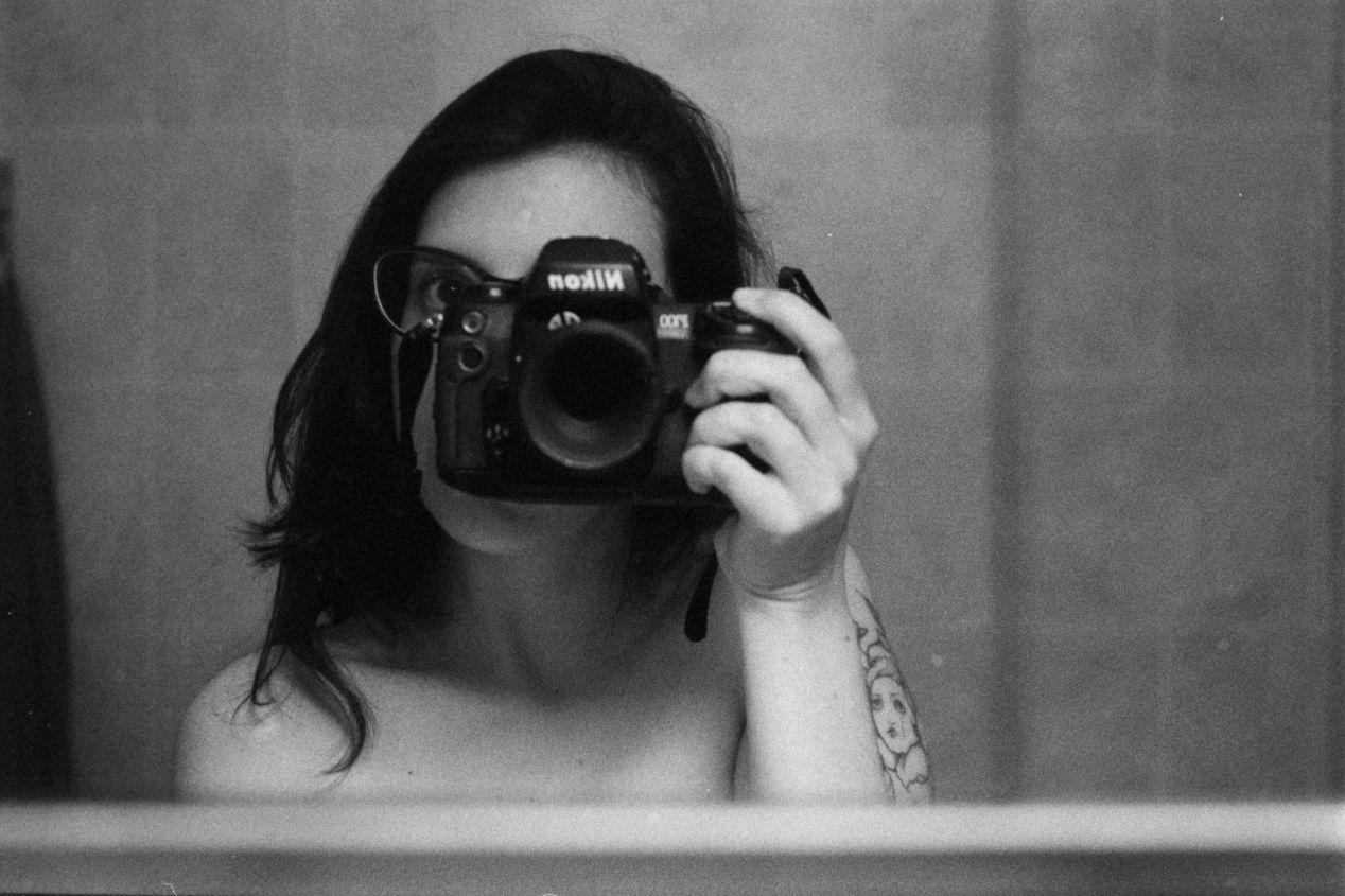 """Be All Things"" (2020) — shot with Ilford Delta 3200, Nikon F100, and 55mm macro lens."