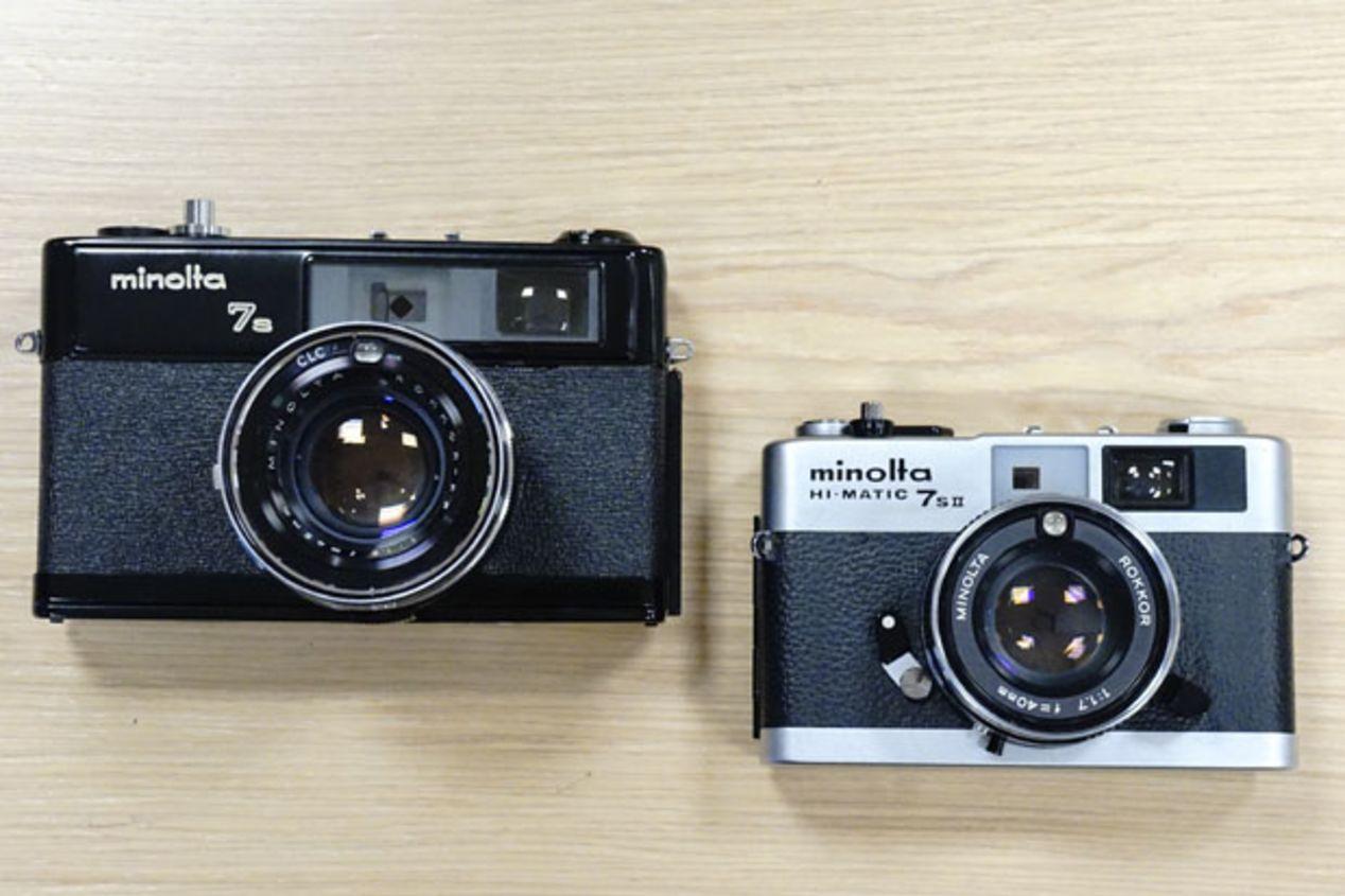 Minolta Hi-Matic 7S ~$65.