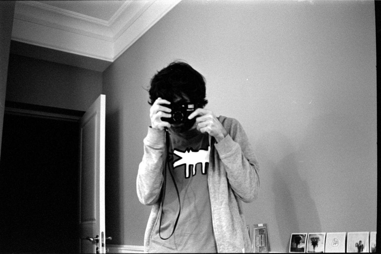 April 2, 2020. Norayr is shooting me with Nikon L35 AD.