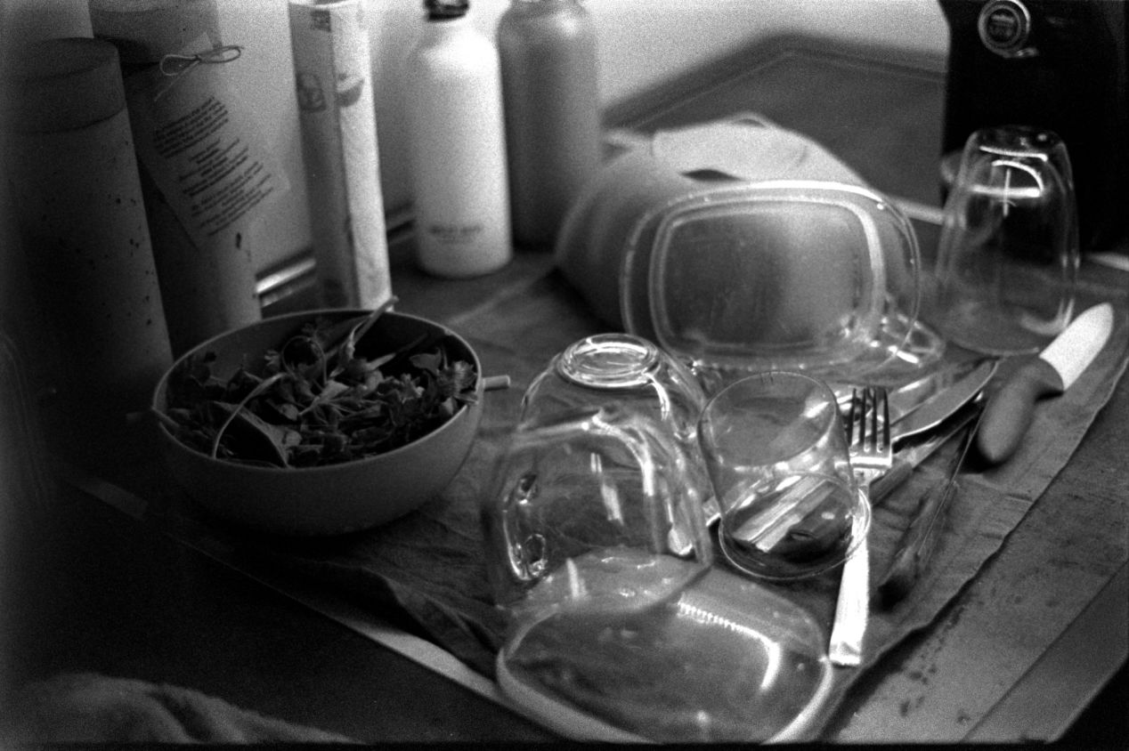 The dishes are done. Good night.