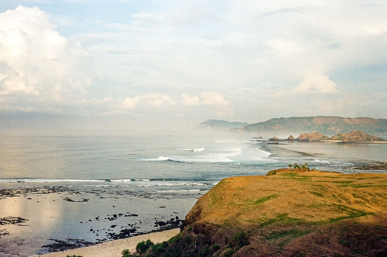 Merese Hill landscape. Captured on Kodak UltraMax 400.