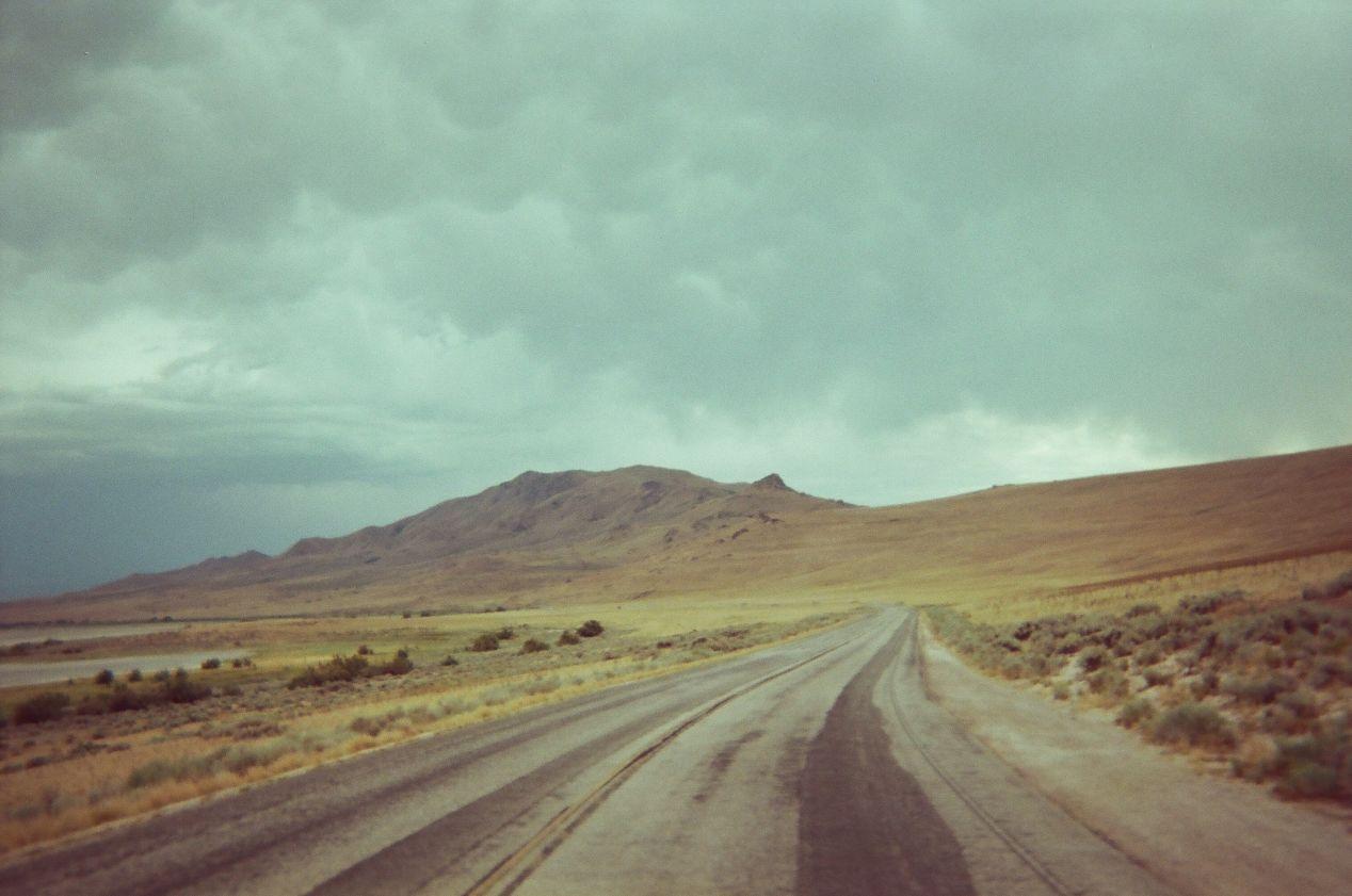 Antelope Island.