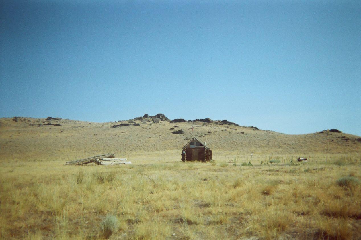 Old Cabin on Fremont Island.