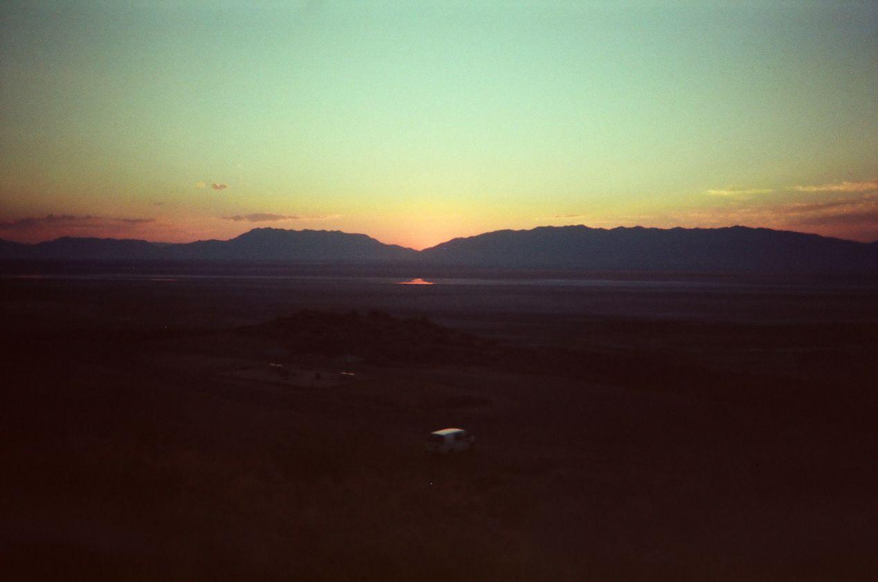 Frary Peak Trail Head, Antelope Island.
