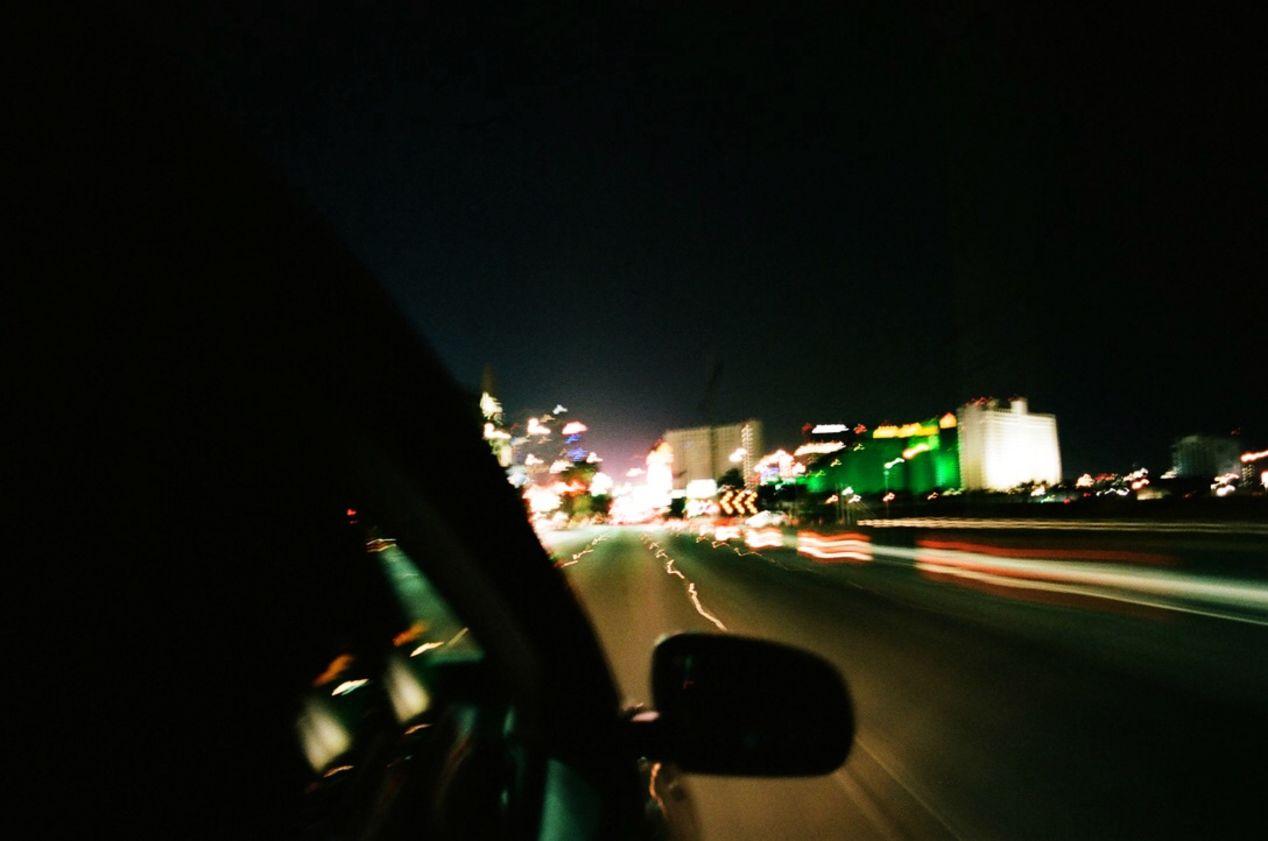 Ethereality on the Vegas strip.