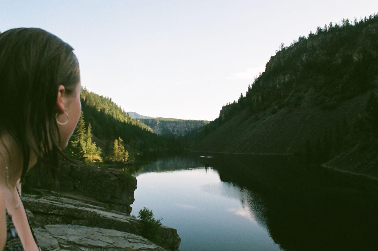 Silver Springs lake.