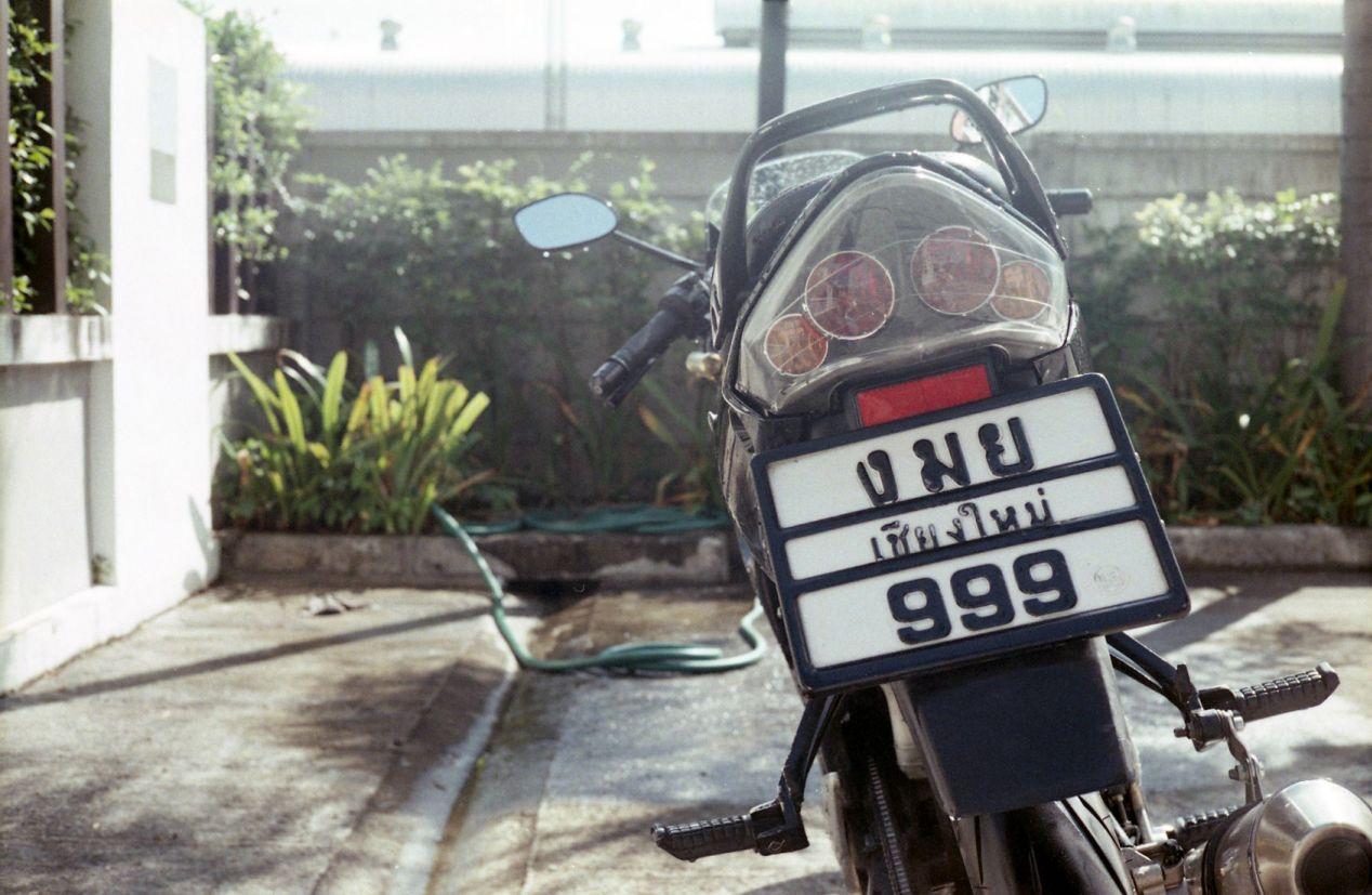 I've altered the license plate number.