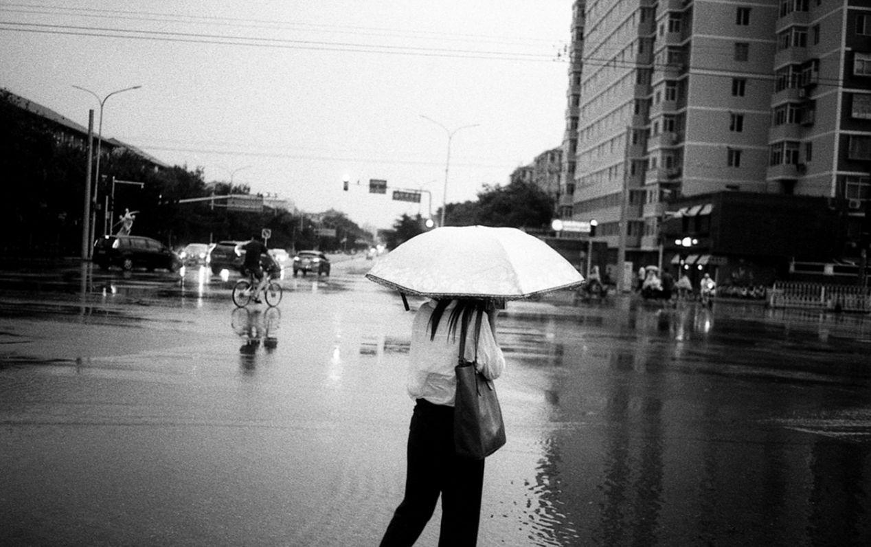 Under the rain — Beijing