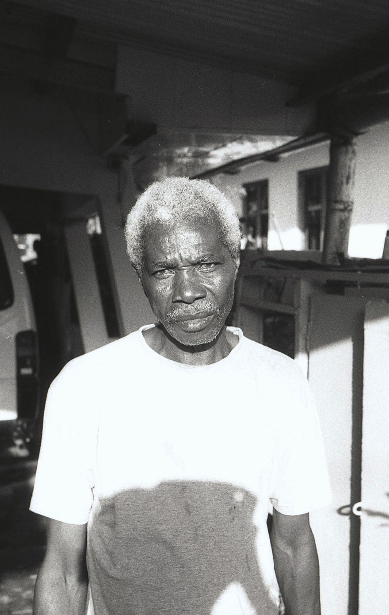 Portrait of my uncle.