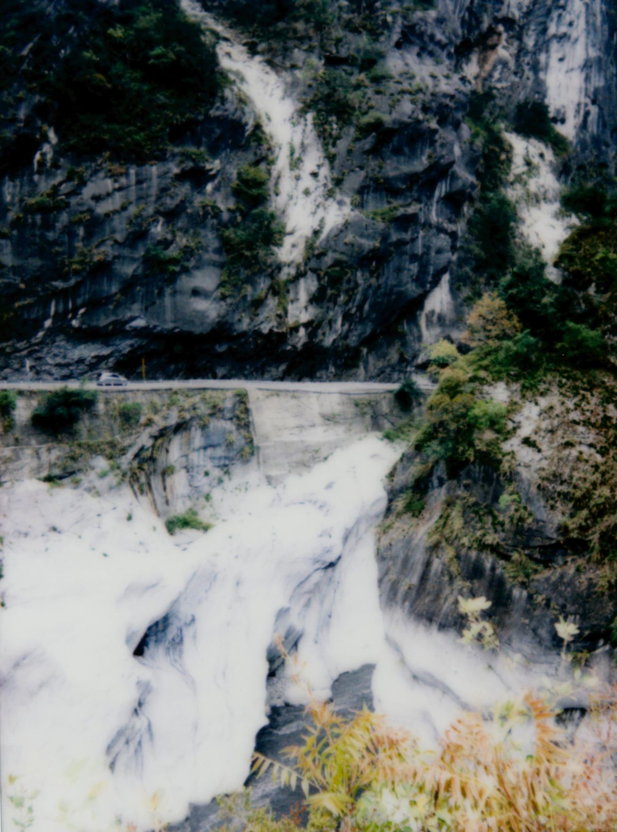"""Taroko Mountain Highway"" - shot on Instax Mini 90."