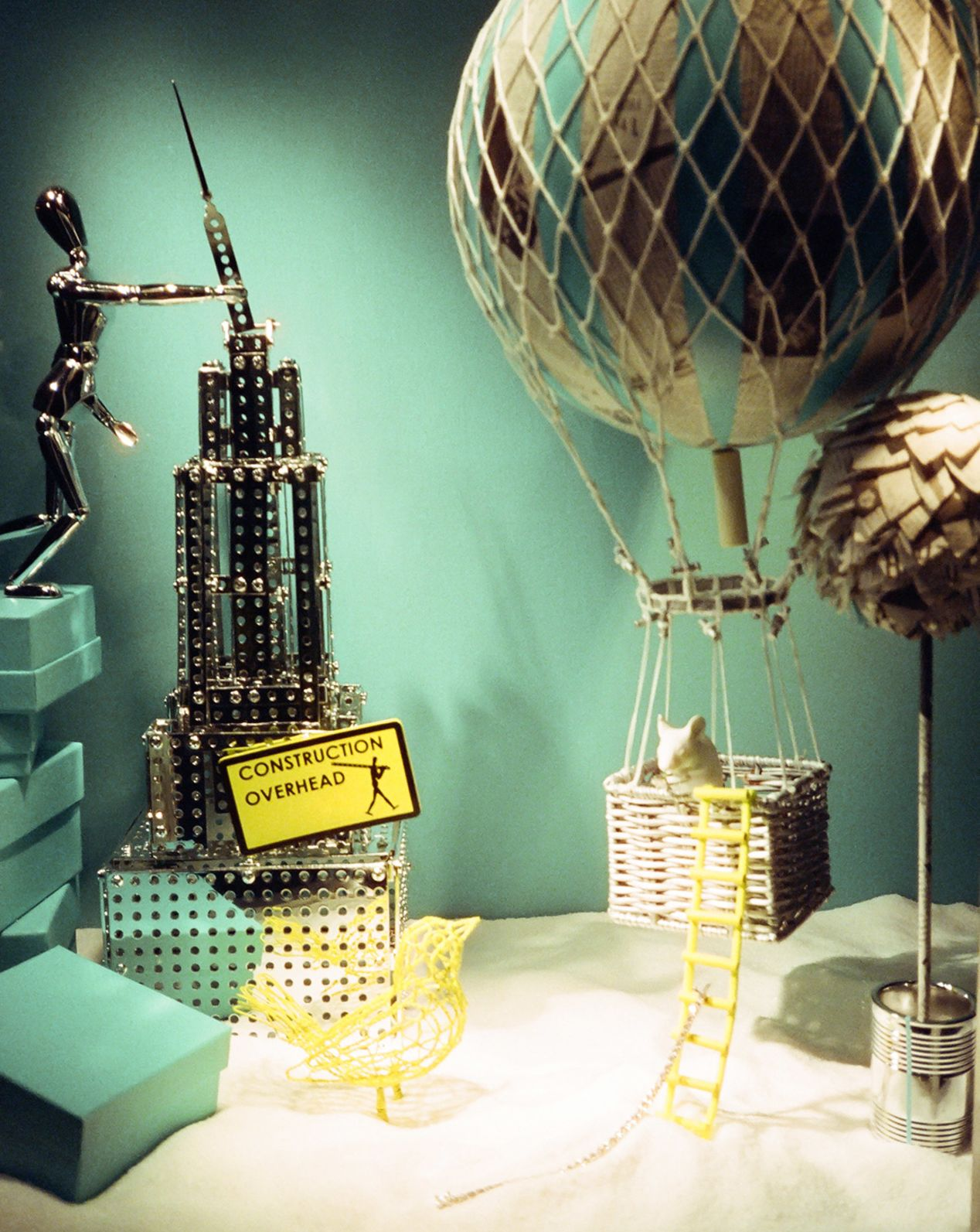 Window Display at Tiffany's in Beverly Hills, California.
