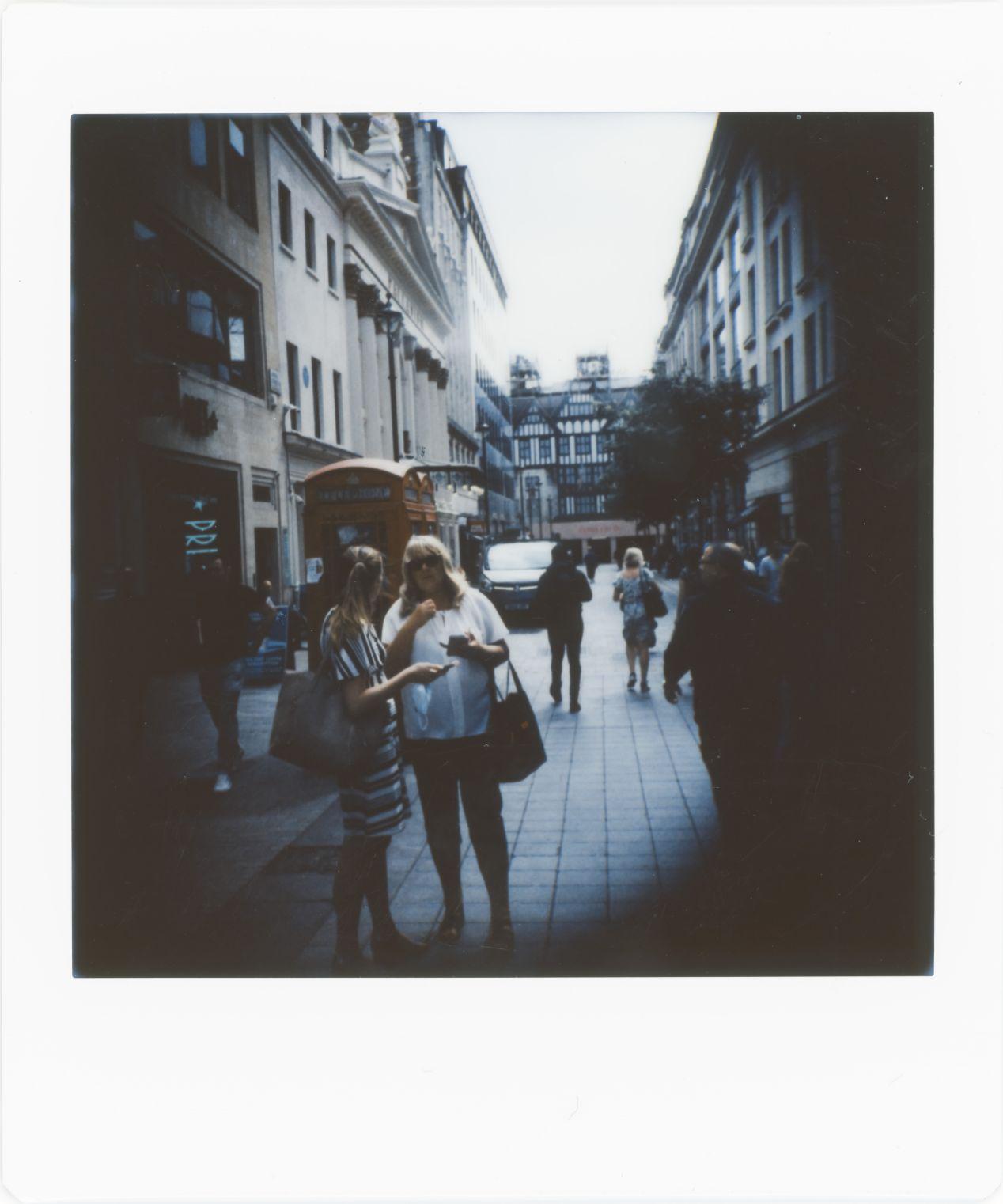 Photograph 14: side street, Oxford Circus.