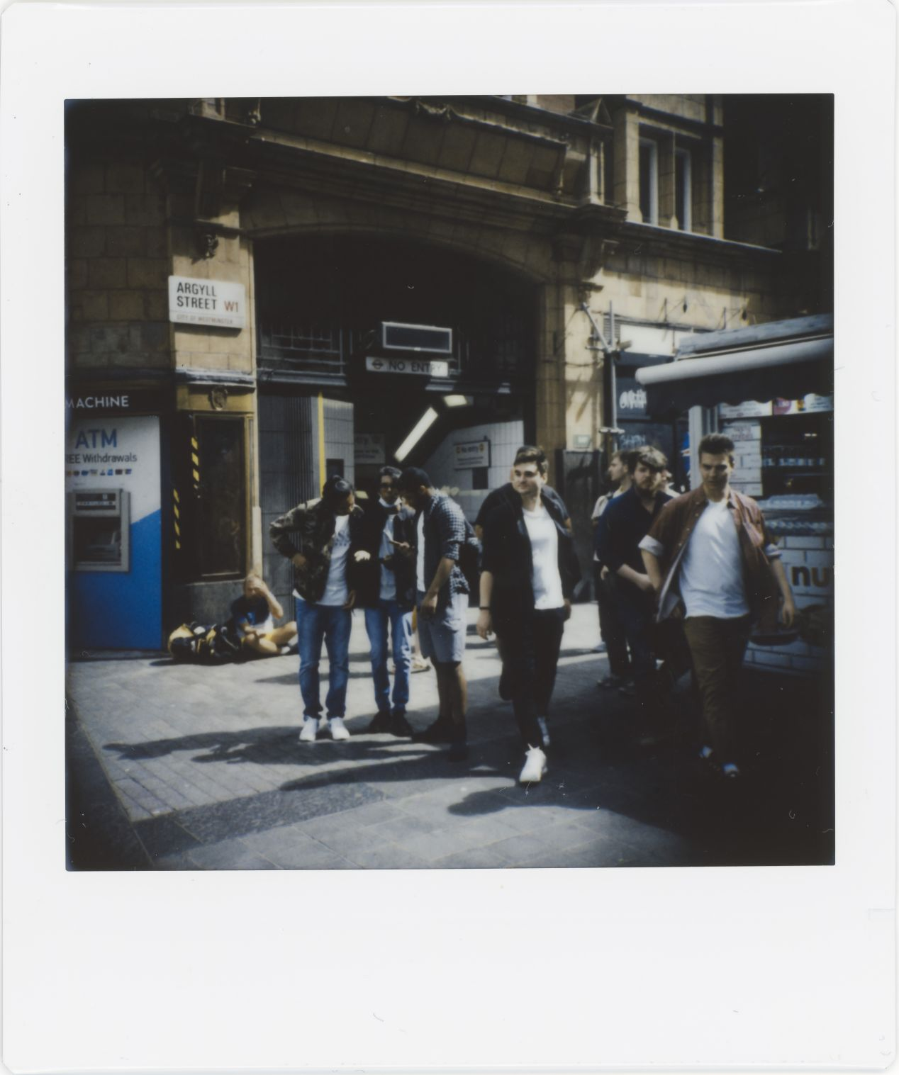 Photograph 15: side street, Oxford Circus.